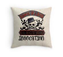 SONIC RADIO : Electric Invocation Throw Pillow