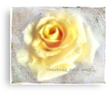 Touching your soul... Canvas Print