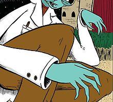 Mantus Finds Popcorn Pupae on the Greenmyn Moon by RONBAXLEYJR
