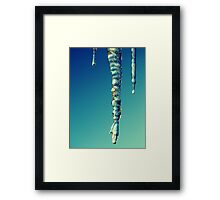 Christmas Day Ice Framed Print