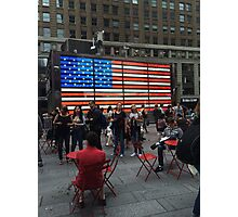 American Flag- Times Square Photographic Print