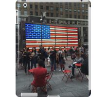 American Flag- Times Square iPad Case/Skin