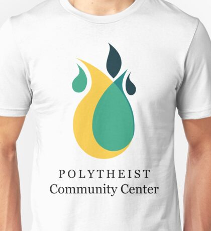 Polytheist Community Center Title & Logo Unisex T-Shirt