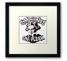 Symphonies on Fleek Framed Print