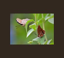 Two Brown Butterflies Unisex T-Shirt