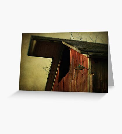 Willard's Barn (detail) Greeting Card