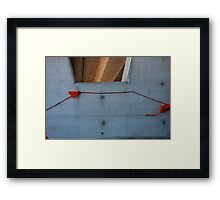 Perth, a city for cars 2 Framed Print