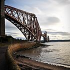 Forth Rail Bridge - Scotland by Tristan Hopkins