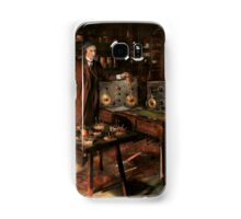 Steampunk - The time traveler 1920 Samsung Galaxy Case/Skin