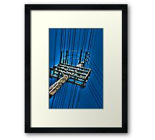 Telephone Pole A Framed Print