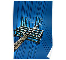Telephone Pole A Poster