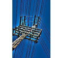 Telephone Pole A Photographic Print