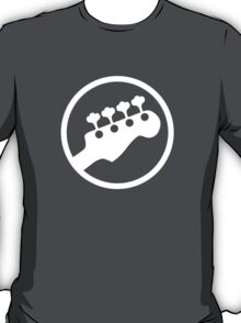 Bass Headstock T-shirt (Scott Pilgrim) T-Shirt