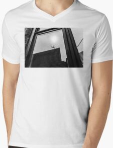 Reflection in a Window Mens V-Neck T-Shirt