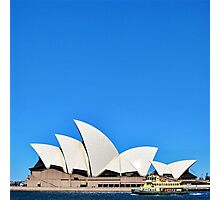 The Opera House. Photographic Print