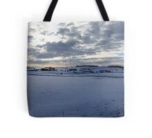 Staffordshire Snow Scene Tote Bag