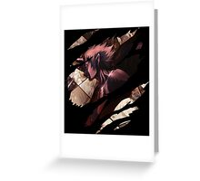 claymore priscilla anime manga shirt Greeting Card