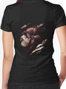 claymore priscilla anime manga shirt Women's Fitted V-Neck T-Shirt