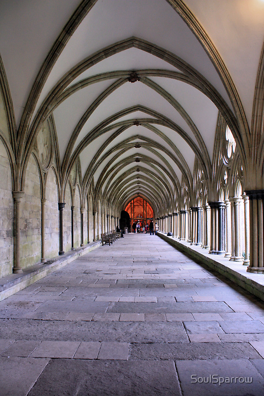 Salisbury Cathedral by SoulSparrow