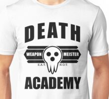 Death Weapon Meister Academy (Black) Unisex T-Shirt