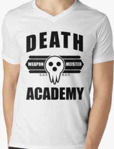 Death Weapon Meister Academy (Black) Mens V-Neck T-Shirt