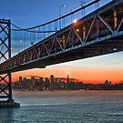 That Darned Bridge… at Sunset by MattGranz