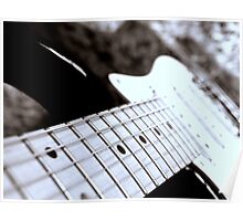 Strings of an Electric guitar Poster