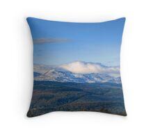 The Coniston Fells Throw Pillow