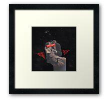 the danger Framed Print