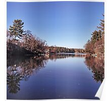 Before Winter at Lake Delton.  Poster