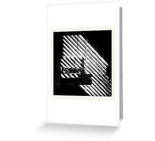Bathroom Nior  Greeting Card