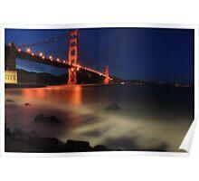 Golden Gate @ Dusk Poster