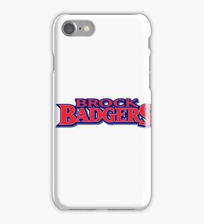 Brock University Logo (Name) iPhone Case/Skin