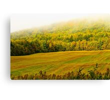 Foggy Morning in New Brunswick Canvas Print