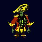 Zombie Pirate LeChuck by RobsteinOne