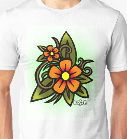 Flowers Dull Unisex T-Shirt