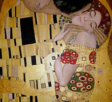 'The Kiss' - A tribute to Klimt by Eyes-of-Sol