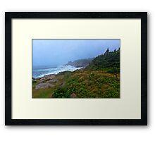 Cape Breton Storm Framed Print