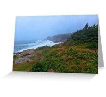 Cape Breton Storm Greeting Card