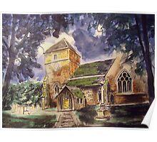 Parish church, Cranleigh Poster