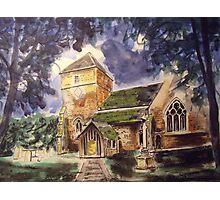 Parish church, Cranleigh Photographic Print