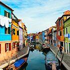 Venice, Burano by Paulo Nuno