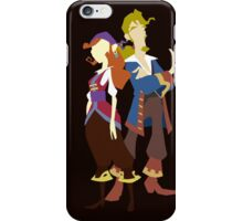 Elaine & Guybrush iPhone Case/Skin