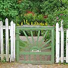 The green gate by Paola Svensson
