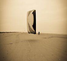 Like my Kite? - St.Andrews Beach by Tristan Hopkins