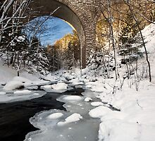 STONE BRIDGES OF ACADIA by Patrick Downey