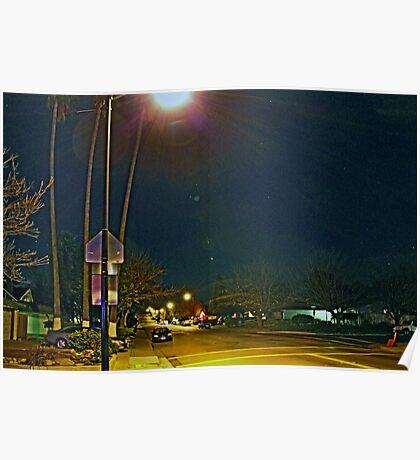 THE STREET LIGHT Poster