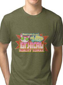 Professor Genki's Super Ethical Reality Climax Tri-blend T-Shirt