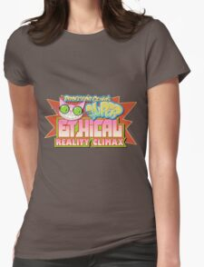 Professor Genki's Super Ethical Reality Climax Womens Fitted T-Shirt