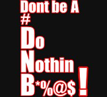 Dont be a DNB  #DNB Women's Fitted Scoop T-Shirt
